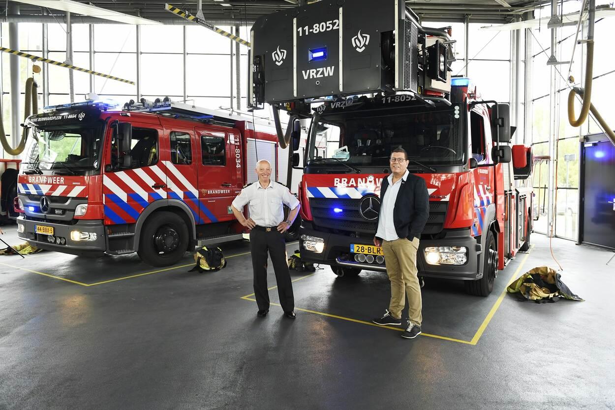 Samenwerking brandweer DJI